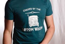 Broom Wagon T-Shirt by Le Velo Clothing